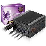 500 Watt Super Flower Golden Silent Fanless Modular 80+ Platinum