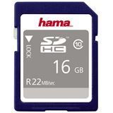 16 GB Hama High Speed Gold SDHC Class 10 Retail