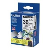 Brother TZEFX261 PT 36mm WH-BK