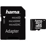 16 GB Hama Mobile microSDHC Class 4 Retail inkl. Adapter