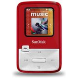 4GB SanDisk Sansa MP3 Clip Zip Red 4GB (SDMX22-004G-E46R) retail