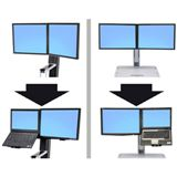 Ergotron WorkFit-S Dual Display Mount