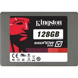 "128GB Kingston SSDNow V200 2.5"" (6.4cm) SATA 6Gb/s MLC asynchron (SV200S37A/128G)"