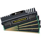 8GB Corsair Vengeance schwarz DDR3-1600 DIMM CL9 Quad Kit