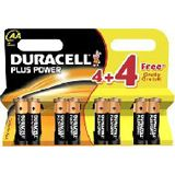 Duracell Plus Power AA / Mignon Alkaline 1.5 V 8er Pack
