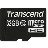 32 GB Transcend Extreme-Speed microSDHC Class 10 Retail