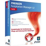 Paragon Festplatten Manager 2012 Suite 32/64 Bit Deutsch Tool Vollversion PC (CD)