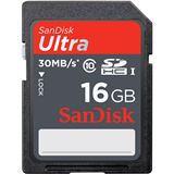 16 GB SanDisk Ultra SDHC Class 10 Retail