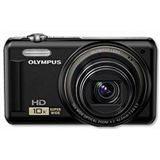 Olympus D-720 schwarz 14 MP, 10x opt.Zoom, 7,6cm LCD, HD Movie