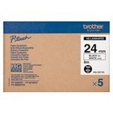 Brother HGE251 BRO PTouch 24mm(5) W-B