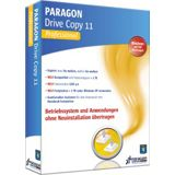 Paragon Drive Copy 11.0 Professional Edition 32/64 Bit Deutsch Utilities Vollversion PC (DVD)