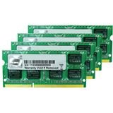32GB G.Skill Mac Memory DDR3-1333 SO-DIMM CL9 Quad Kit