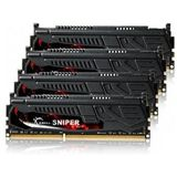 32GB G.Skill SNIPER DDR3-1600 DIMM CL9 Quad Kit