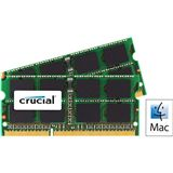 16GB Crucial for Mac DDR3-1600 SO-DIMM CL11 Dual Kit