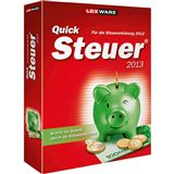 Lexware QuickSteuer 2013 32/64 Bit Deutsch Office Vollversion PC (DVD)