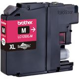 Brother Tinte LC125XLM magenta