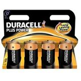 DURACELL DUR Plus Power D 4er