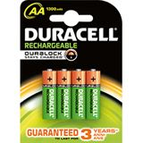 Duracell Stay Charged HR03 Nickel-Metall-Hydrid AAA Micro Akku 850 mAh 4er Pack