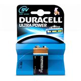 Duracell Ultra Power MN1604 Plus Silber 9.0 V 1er Pack