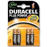Duracell Plus Power AAA / Micro Alkaline 1.5 V 4er Pack