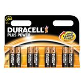 Duracell Plus Power LR6 Alkaline AA Mignon Batterie 1.5 V 8er Pack