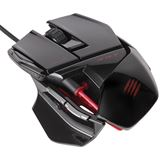 Mad Catz R.A.T 3 Gaming Mouse USB gloss black (kabelgebunden)