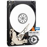 "500GB WD AV-25 WD5000LUCT 16MB 2.5"" (6.4cm) SATA 3Gb/s"