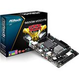 ASRock 960GM-VGS3 FX AMD 760G So.AM3+ Dual Channel DDR3 mATX Retail