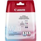 Canon Tinte BCI-6PC/PM Multipack 4709A018 cyan photo, magenta photo