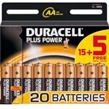 Duracell Batterie AA Plus Power 15+5