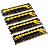 16GB Avexir Core Series MPOWER Edition rote LED DDR3-2666 DIMM CL11 Quad Kit