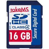 16 GB takeMS Secure Digital SDHC Class 4 Retail