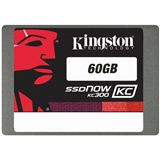 "60GB Kingston KC300 2.5"" (6.4cm) SATA 6Gb/s MLC asynchron (SKC300S37A/60G)"