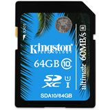 64 GB Kingston UHS-I Ultimate SDXC Class 10 Retail