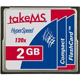 2 GB takeMS HyperSpeed Compact Flash TypI 120x Retail
