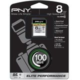 8 GB PNY Elite Performance SDHC Class 10 Retail