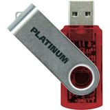 8 GB Platinum Twister rot USB 2.0