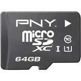 64 GB PNY Android microSDXC Class 10 Retail inkl. Adapter auf SD