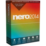 Nero 2014 32/64 Bit Deutsch Brennprogramm Vollversion PC (CD)