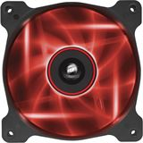 Corsair Air Series AF120 LED Red Quiet Edition 120x120x25mm 1500 U/min 25 dB(A) schwarz/transparent