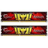 8GB G.Skill Aegis DDR3-1333 DIMM CL9 Dual Kit