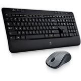 Logitech Wireless Combo MK520 Deutsch schwarz