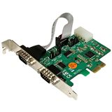 Startech PEX2S553S Seriell RS232 2 Port PCIe x1 Low Profile retail