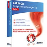 Paragon Festplatten Manager 14 Suite 32/64 Bit Deutsch Utilities Vollversion PC (CD/DVD)