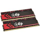 8GB Avexir Blitz Series Red LED Elitegroup-L337 DDR3-2400 DIMM CL10 Dual Kit