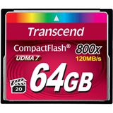 64 GB Transcend Compact Flash TypI 800x Retail
