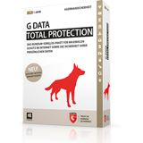 G DATA TotalProtection 2015 32/64 Bit Deutsch Internet Security Vollversion PC 1 User (CD/DVD)