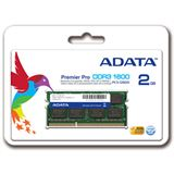 2GB ADATA Premier DDR3-1600 SO-DIMM CL11 Single