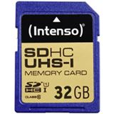 32 GB Intenso SDHC UHS-I Retail