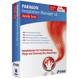 Paragon Festplatten Manager 14 Family Suite 32/64 Bit Deutsch Backup&Recovery Vollversion PC (CD/DVD)